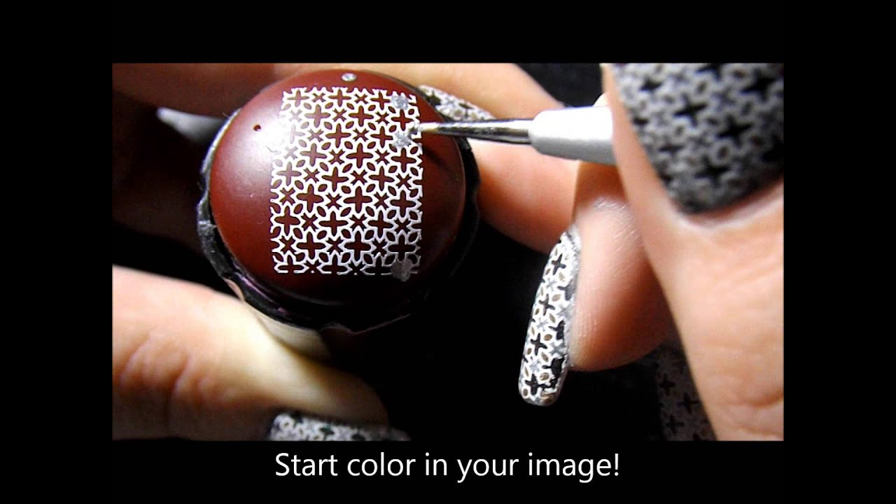 Frightfully Spectacular Nail Polish Review Nail Tutorial Advance Nail Stamping Technique Youtube