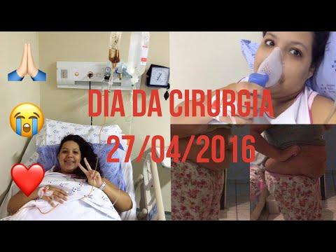 DIÁRIO DA BARIÁTRICA - DIA DA CIRURGIA