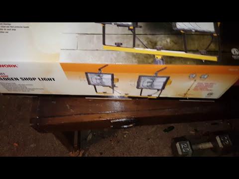 Harbor Freight 1000 Watt Halogen Shop Light Review Its Bad