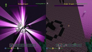 How to collect a Dragon Egg - Minecraft Xbox 360 - Ender Portal - Tutorial