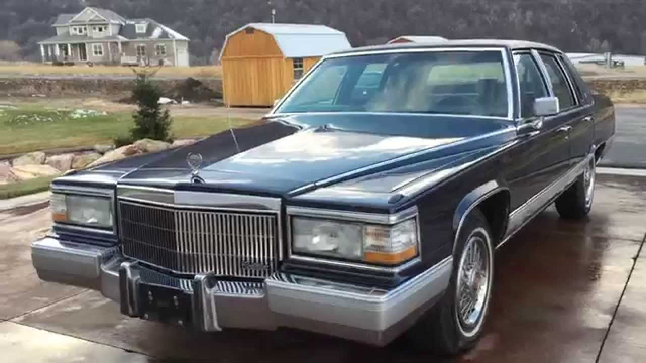 1991 cadillac brougham pristine one owner 58k miles