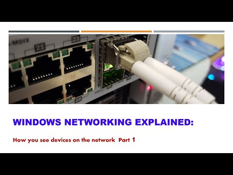 Windows Networking Services Shares Part 1