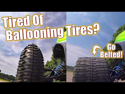 NO MORE Ballooning Tires! Pro-Line Racing Belted Trencher Truck Tires | RC Driver