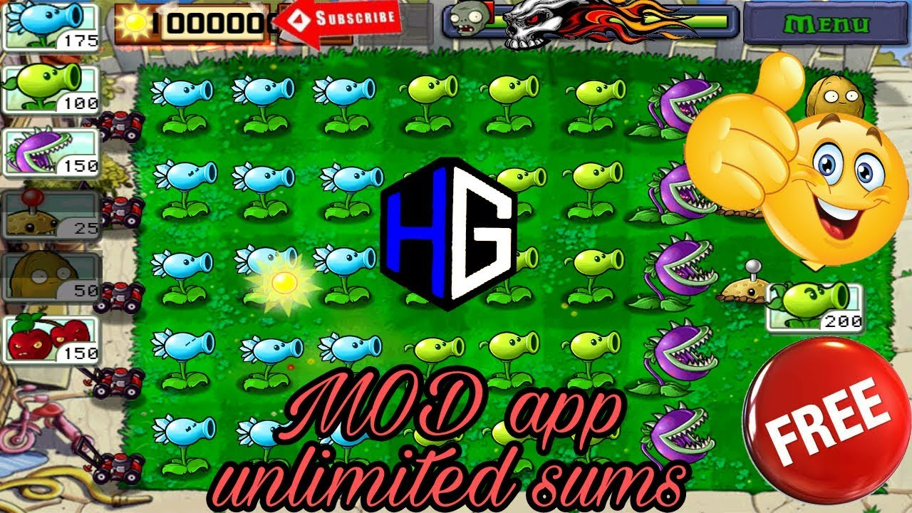 Plants vs  Zombies FREE 2 1 00 Apk + Mod (Infinite Sun,Coins) for Android{  Unlimited Sums} Hindi 😎