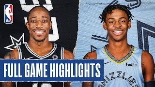 SPURS at GRIZZLIES | FULL GAME HIGHLIGHTS | January 10, 2020