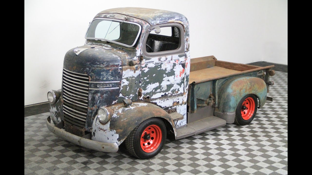 1941 Dodge COE (Cab Over Engine) For Sale - YouTube