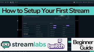 How to Setup Steamlabs OBS with Twitch (Step by Step Beginner Friendly Guide) - Tutorial