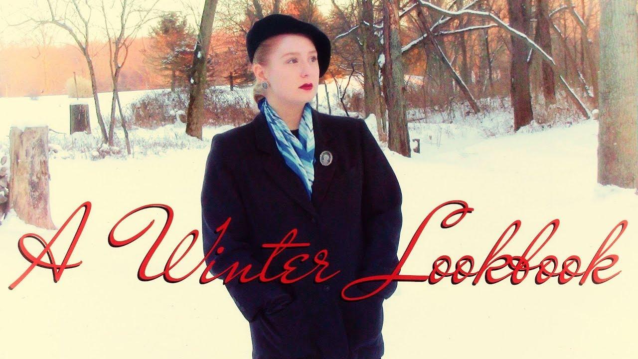 Vintage Winter Lookbook 8