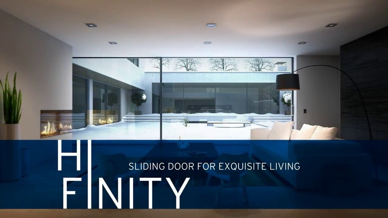 Reynaers Hi Infinity Aluminium Sliding Patio Door System Sl35
