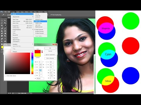 #36 Understanding The Colors In Photoshop RGB CMYK