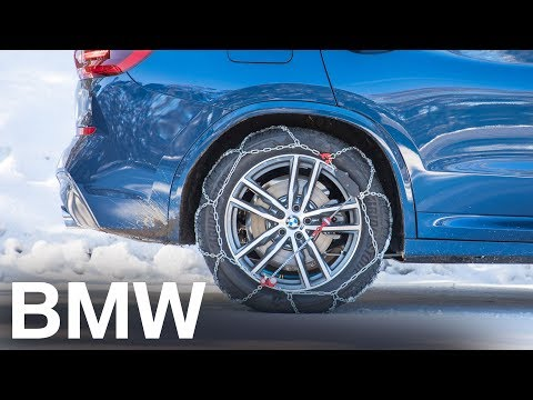BMW presents: Fitting snow chains to your BMW.