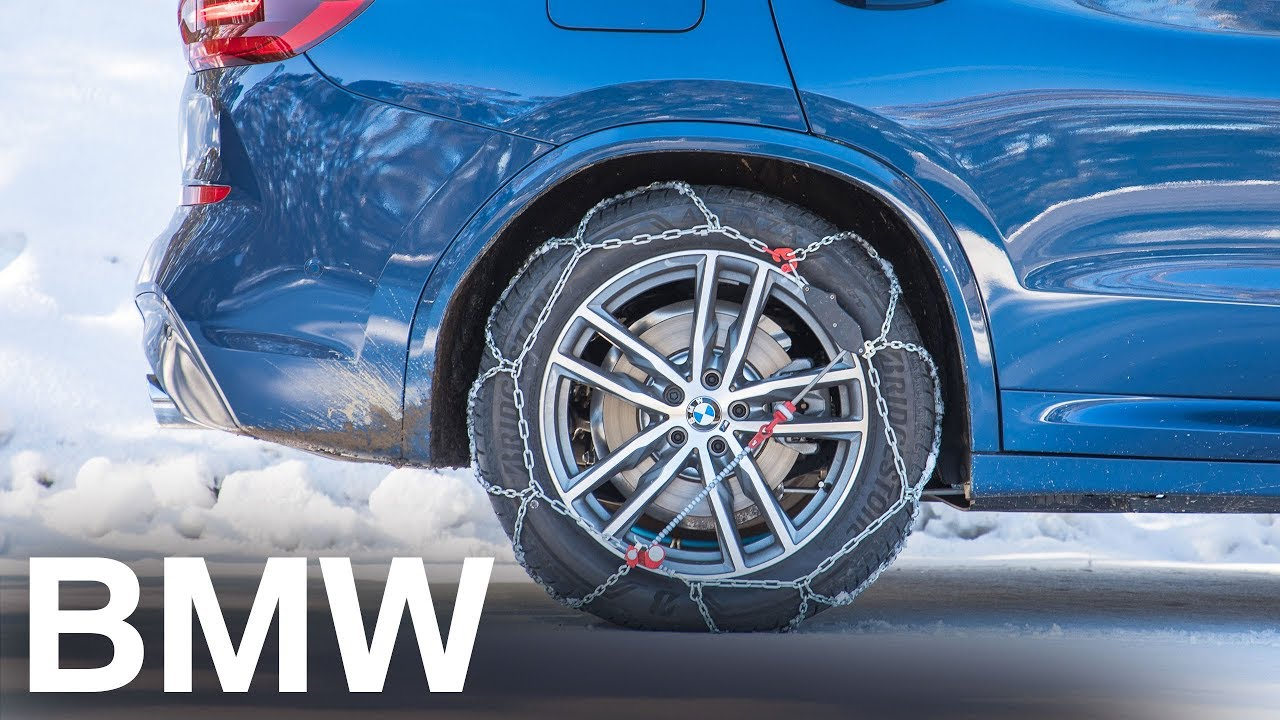 Bmw Presents Fitting Snow Chains To Your Bmw Youtube