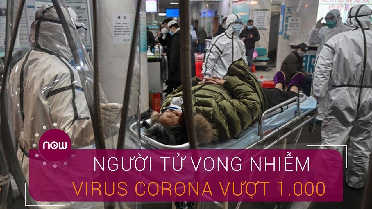 Cập nhật 11/2: Số người tử vong nhiễm virus Corona vượt 1.000 | VTC Now
