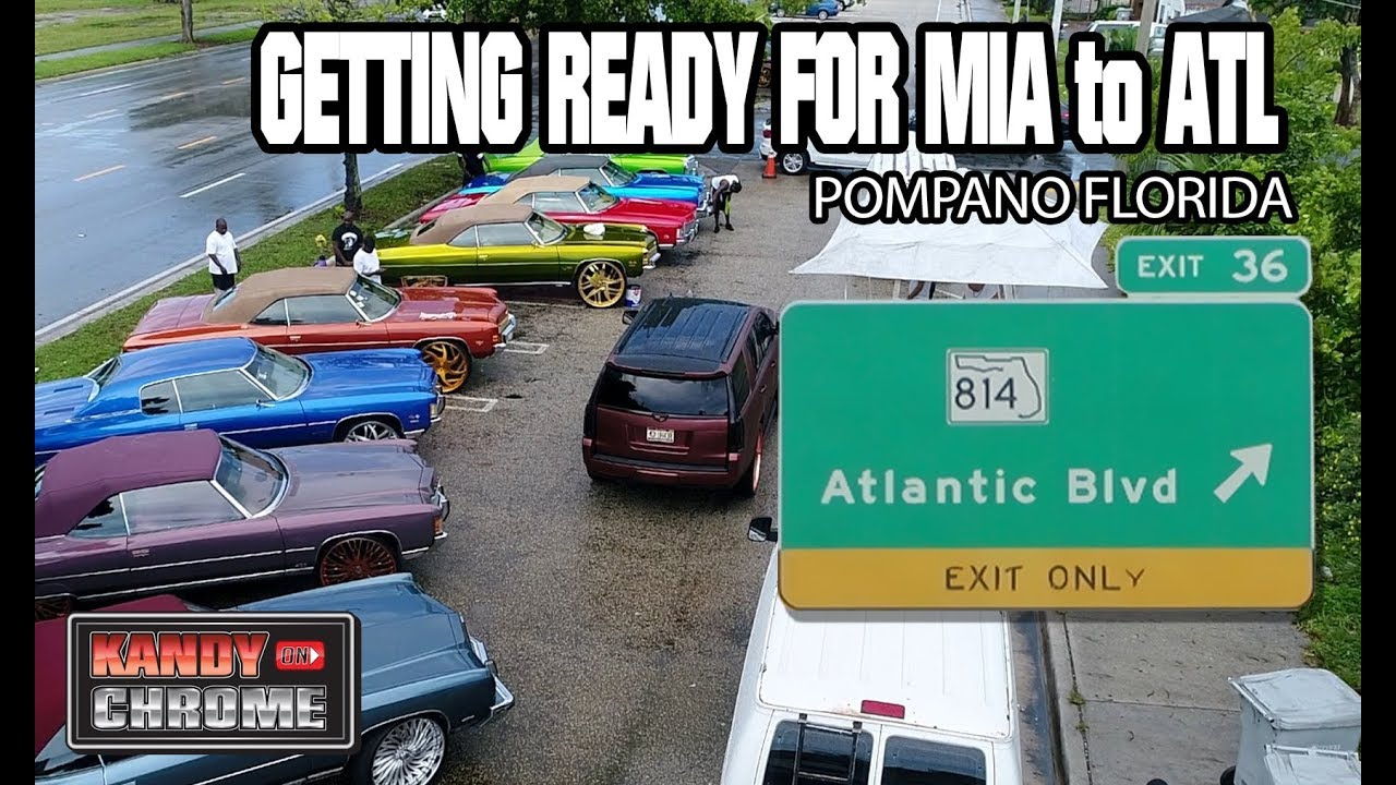 KandyonChrome Pompano Loading Up For Mia To Atl Car Show YouTube - Pompano car show