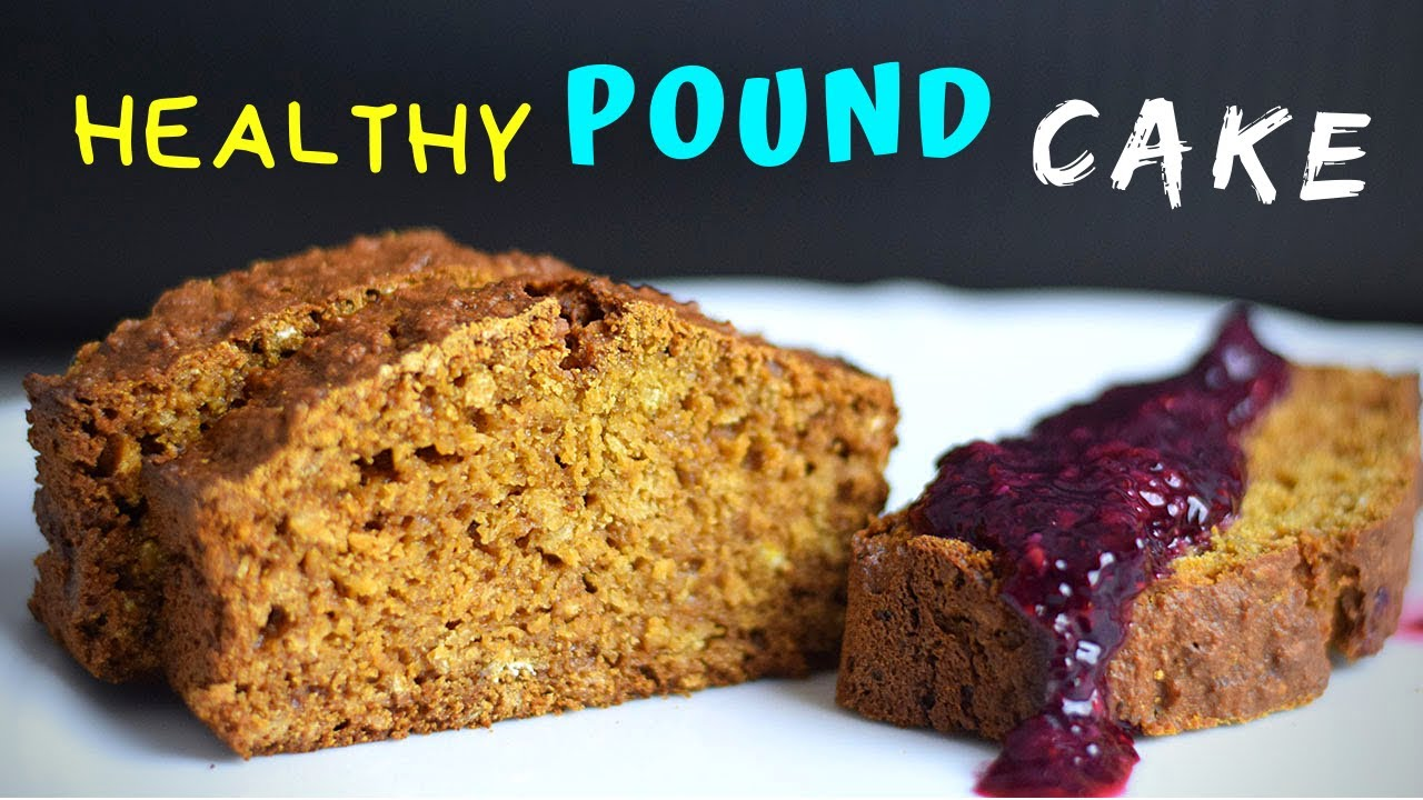 Easy Pound Cake (with oats!)