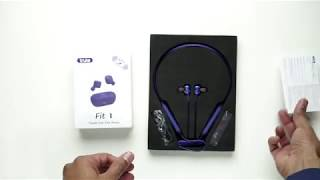 Truke yoga power neckband earphone and Truke Fit 1 TWS true earbuds: Unboxing & Sound quality