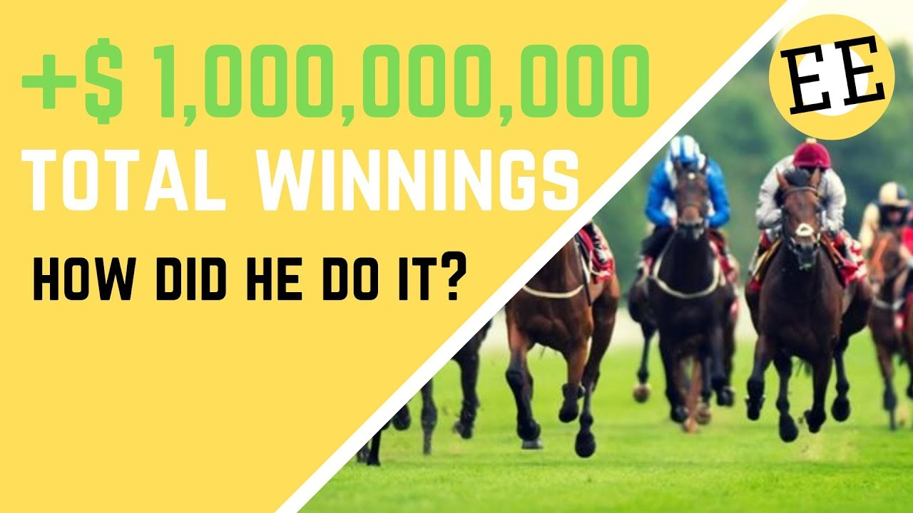1 Man 1 Horse Video Link how this man profited $1 billion betting on hong kong horse races
