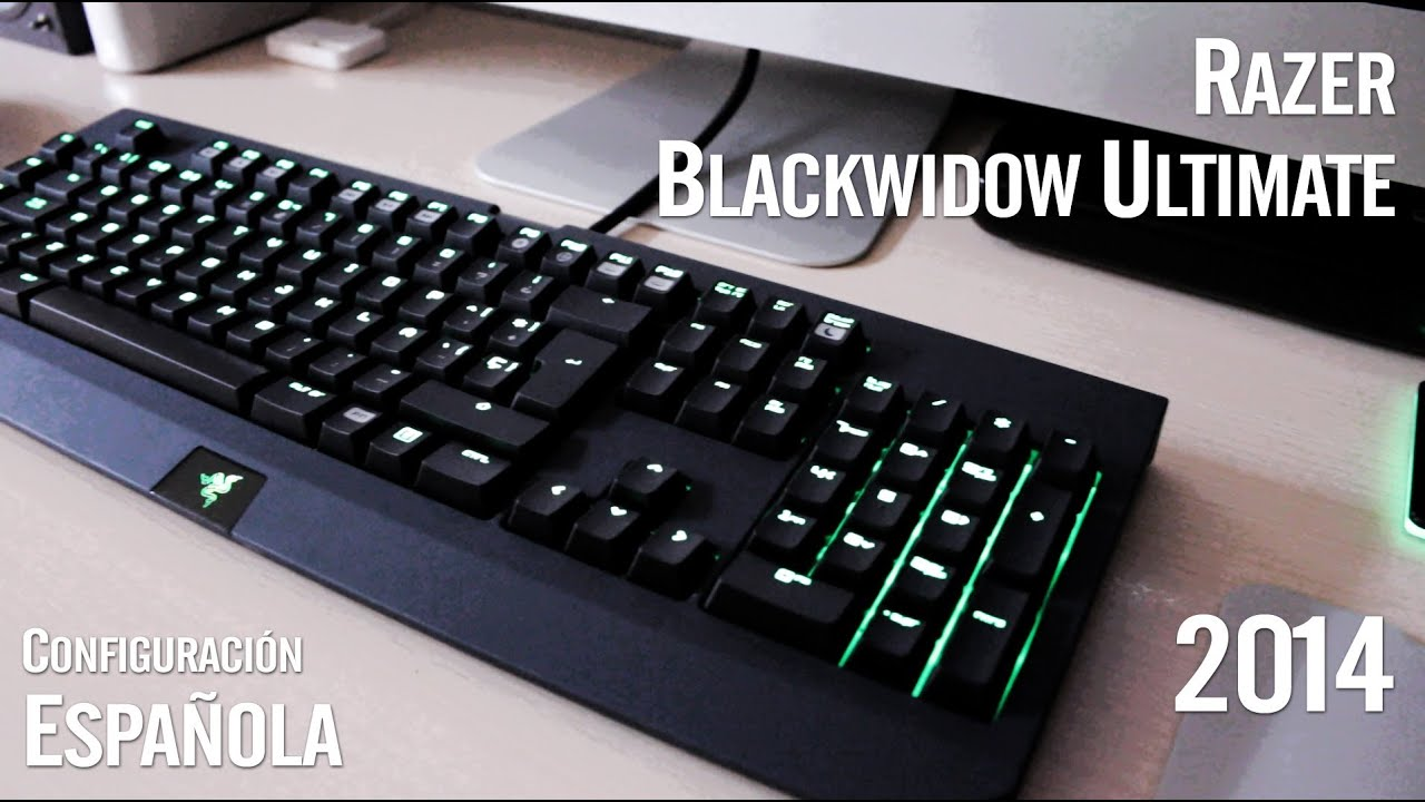 [HD] Razer Blackwidow Ultimate 2014 - Unboxing & Hands on - Español - YouTube