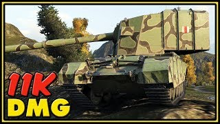 FV4005 Stage II - 11K Damage - World of Tanks Gameplay