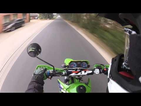 Drive to School | Kawasaki KMX 125