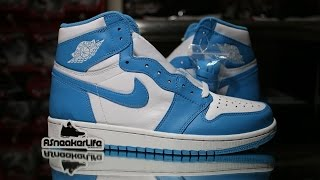 Air Jordan 1 Retro UNC Unboxing Video at ASneakerLife
