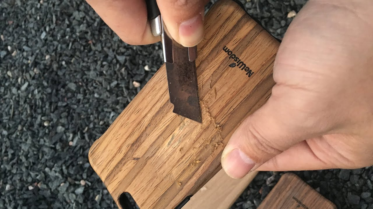 best service 8e366 c1817 Real Wood VS Wood Grain,NeWisdom iphone 6 real wood case-Review