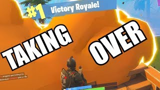 Taking Over The Arena! (Fortnite Battle Royal)