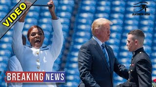 After Grad Speech At Naval Academy, Trump Puts Obama To Shame With 1 Gesture