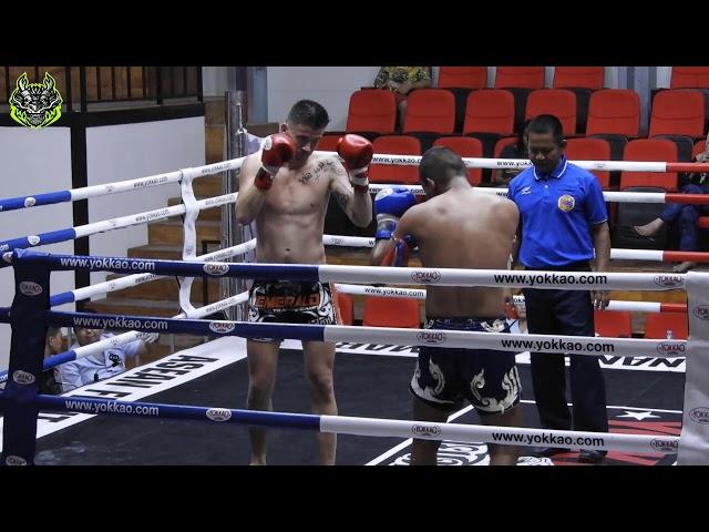 Jordan Emerald Muay Thai gym vs Talayhod Sakpinyo