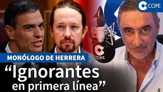 """Herrera: """"Iglesias provocará que el enfrentamiento llegue a la calle"""""""