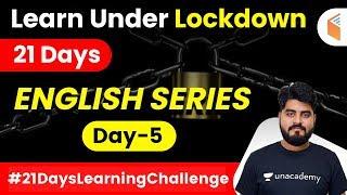 7:45 AM - Learn Under Lockdown | English by Vishal Sir | English Grammar (Day-5)