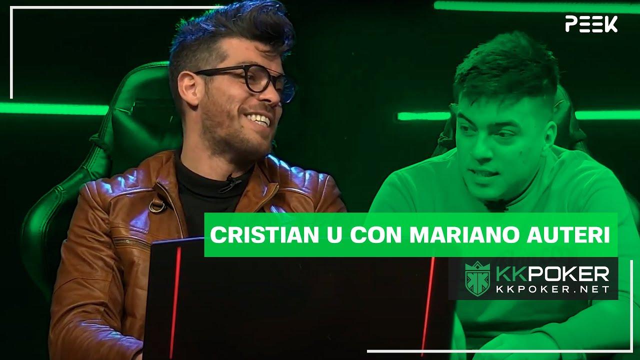 KKPoker Peek - Cristian U con Mariano Auteri