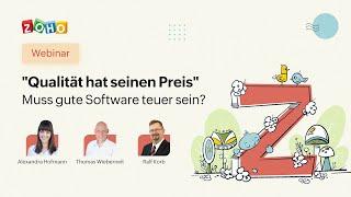 Qualität hat seinen Preis – Muss gute Software teuer sein?