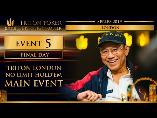 Triton London 2019 - Triton London NLH Main Event £100K - Final Day