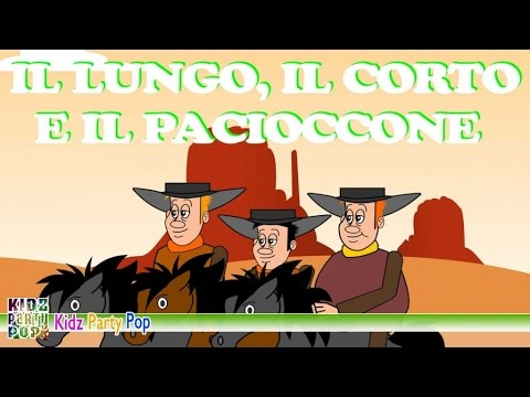 Il lungo, il corto e il pacioccone   Canzoni per bambini   Video animato