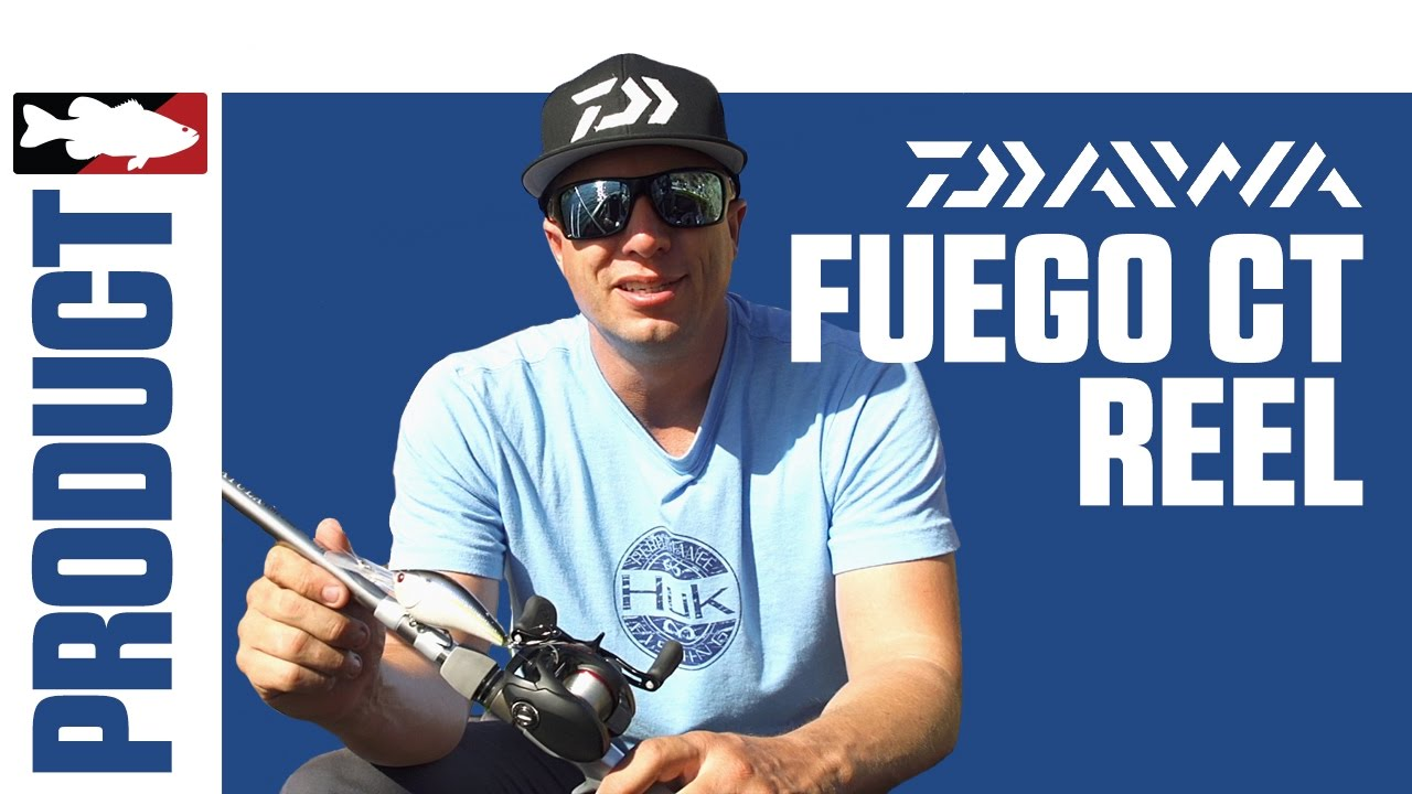 bf68a41115f Brent Ehrler Discusses the Daiwa Fuego CT Casting Reel - YouTube
