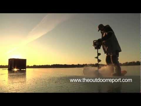 The Outdoor Report #8- Early Ice Conditions, Park Rapids MN