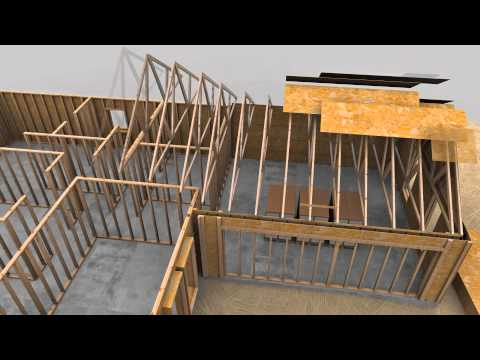 Spider Tie Concrete Wall Forming System - 3D Animation