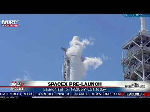 FNN: SpaceX Launch, Sanctuary City Conference S.F., President Returns To D.C.