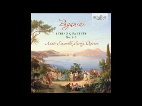 Paganini  String Quartet No 1 in D minor