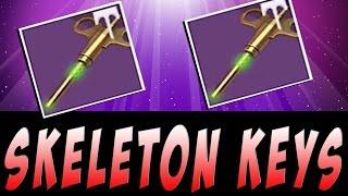 Destiny - Fastest Way to Get Skeleton Keys