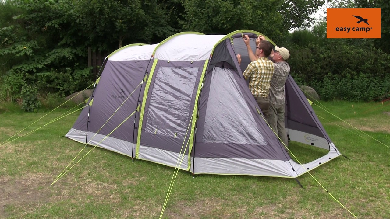 Guide to pitching a family tunnel tent with fibreglass poles | Just Add People & Guide to pitching a family tunnel tent with fibreglass poles ...