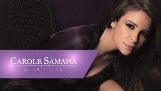 كارول سماحة خلال تسجيل وحشاني بلادي / Carole Samaha Recording Wahshani Bladi