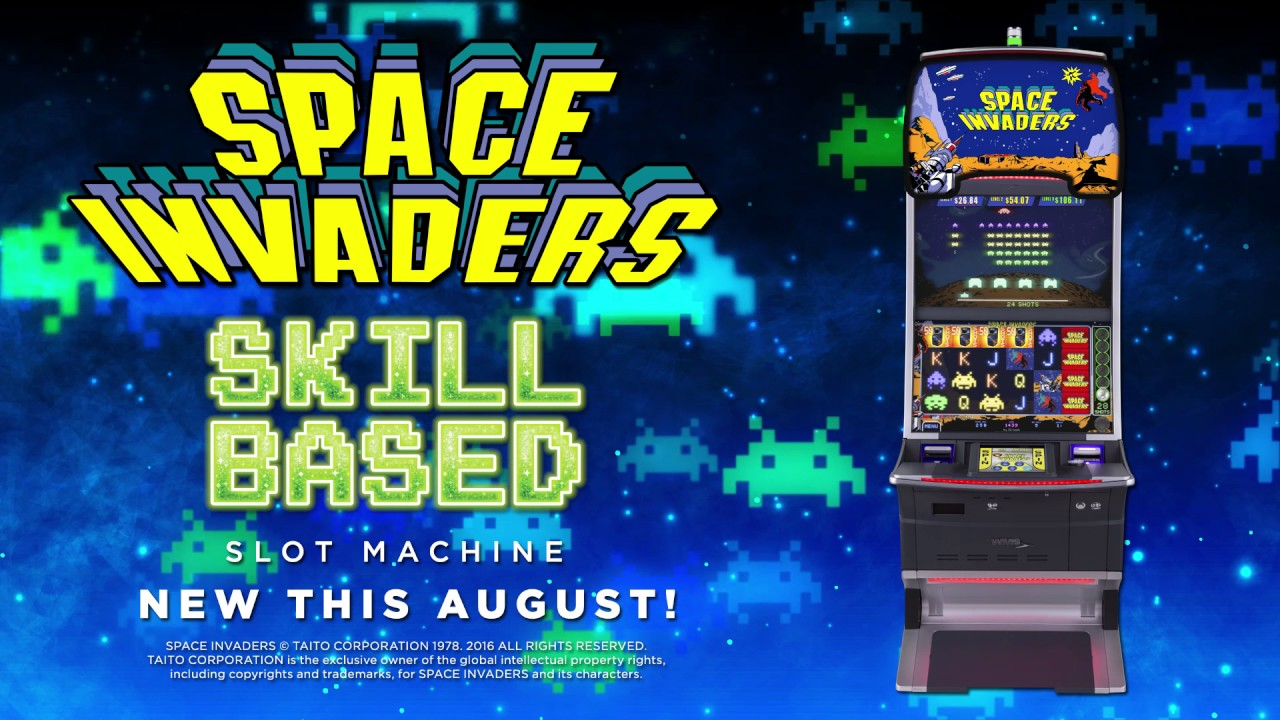Space Invaders Slot Machine