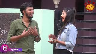 Flirting Prank a Bangalore Ponnu   Love Accepted   VJ Prem    Ka Ka Ka Po