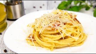 Спагетти Карбонара без сливок | Классический рецепт | рецепт пасты (Spaghetti Carbonara)