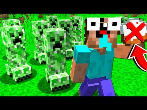 HOW **NOT** TO FIGHT A CREEPER! (MINECRAFT)