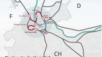 Durchmesserstrecke Herzstueck Basel