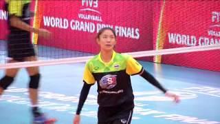 4 ก ค 59 WGPทีมวอลเลย์บอลสาวไทยซ้อมสนามแข่งขันจริง