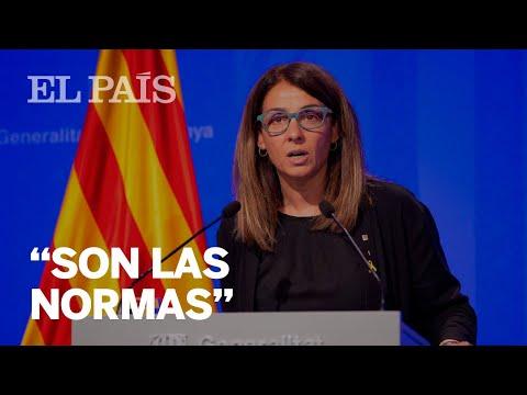 ¿Preguntas solo en catalán en la Generalitat?